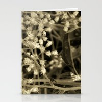 Tiny Fall Flowers Stationery Cards