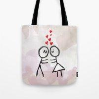 Kiss me ! Tote Bag