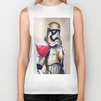 First Order Stormtrooper Biker Tank