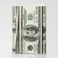 DOLLAR$ and SENSE Stationery Cards