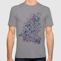 Secret Garden Mens Fitted Tee Athletic Grey SMALL