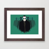 The Bitter End - Variant Framed Art Print