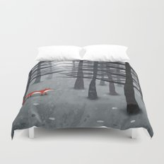 The Fox and the Forest Duvet Cover
