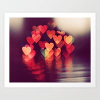 Love LIGHTS Art Print