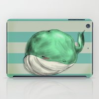 Tubby Sketch Whale iPad Case