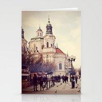 Prague Stationery Cards