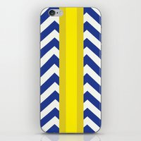 George Summer Chevron iPhone & iPod Skin