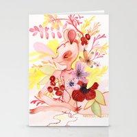 Study Of Dancer 1 Stationery Cards