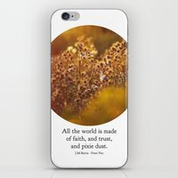 Pixie Dust - Peter Pan iPhone & iPod Skin