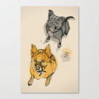 Stuey & Griffin Canvas Print