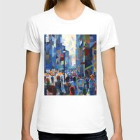 city T-shirts featuring City by Emma Reznikova
