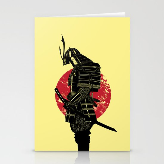 The Headless Samurai  Stationery Card