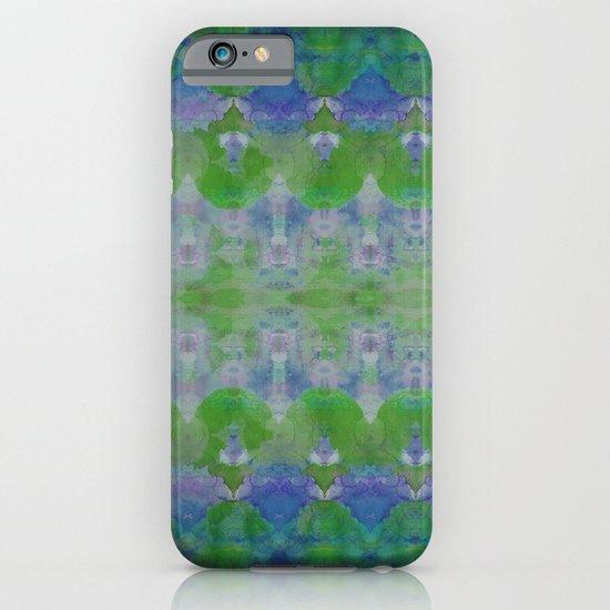 Watercolour Tribal Green iPhone & iPod Case