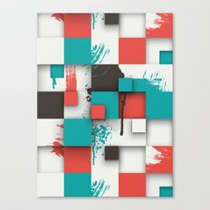 Paint Splat Canvas Print