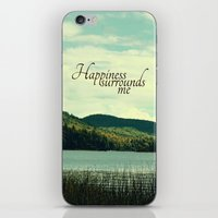 Happiness Surrounds Me iPhone & iPod Skin