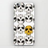Catacomb treasure iPhone & iPod Skin