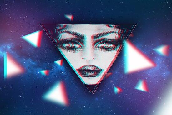 dimensional snap Art Print