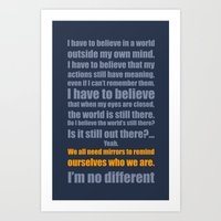 We All Need Mirrors Art Print