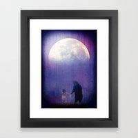 Follow Your Inner Moonli… Framed Art Print
