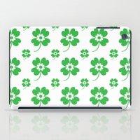 lucky flower iPad Case