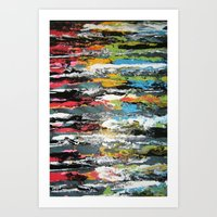 Smoosh Art Print