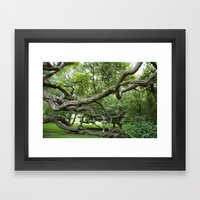 Adapt Or Perish Framed Art Print