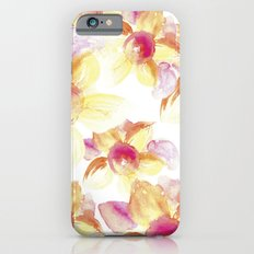 Sunflowers Watercolor iPhone 6 Slim Case