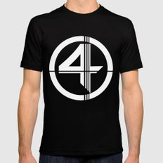 Fantastic SMALL Mens Fitted Tee Black