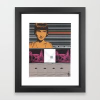 Collage #10 Framed Art Print