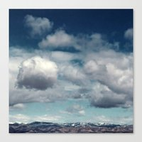 Clearly Cumulus Canvas Print