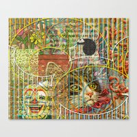 Prioritizing the Preservation of Favoured Struggles: Our Mesmerizing Bucket of Worms (1) Canvas Print