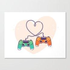Play Love Canvas Print