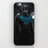 Nightwing 02 iPhone & iPod Skin