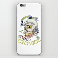 Park Continental iPhone & iPod Skin
