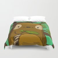 Sally the Sloth Duvet Cover