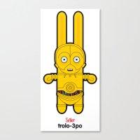 Sr. Trolo / C3PO Canvas Print