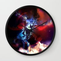 Celestial Force Wall Clock