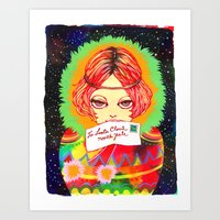 Don't Forget To Write To… Art Print