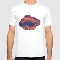 Playful Daydream Mens Fitted Tee White SMALL