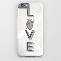 iPhone & iPod Case featuring LoVE by vin zzep