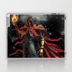 Epic Vincent Valentine Final Fantasy Painting Portrait Laptop & iPad Skin