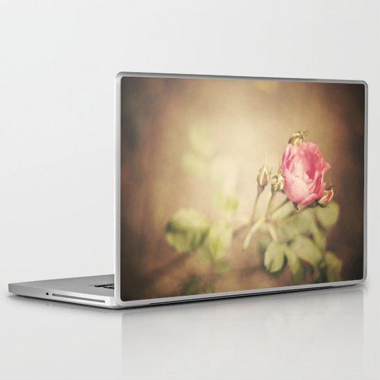 Peacefully Rose Laptop & iPad Skin