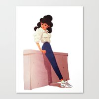 80's Style Canvas Print