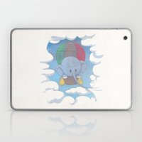 Elephant balloon Laptop & iPad Skin