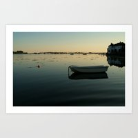 All Alone Bosham Art Print