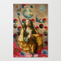 Saints Collection -- The… Canvas Print