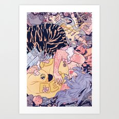 Goin' Nowhere Art Print