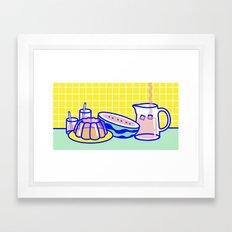 Jelly Lifestyle Framed Art Print