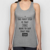 Will Smith Quote - Motiv… Unisex Tank Top