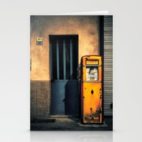 Italian Gas Station Stationery Cards